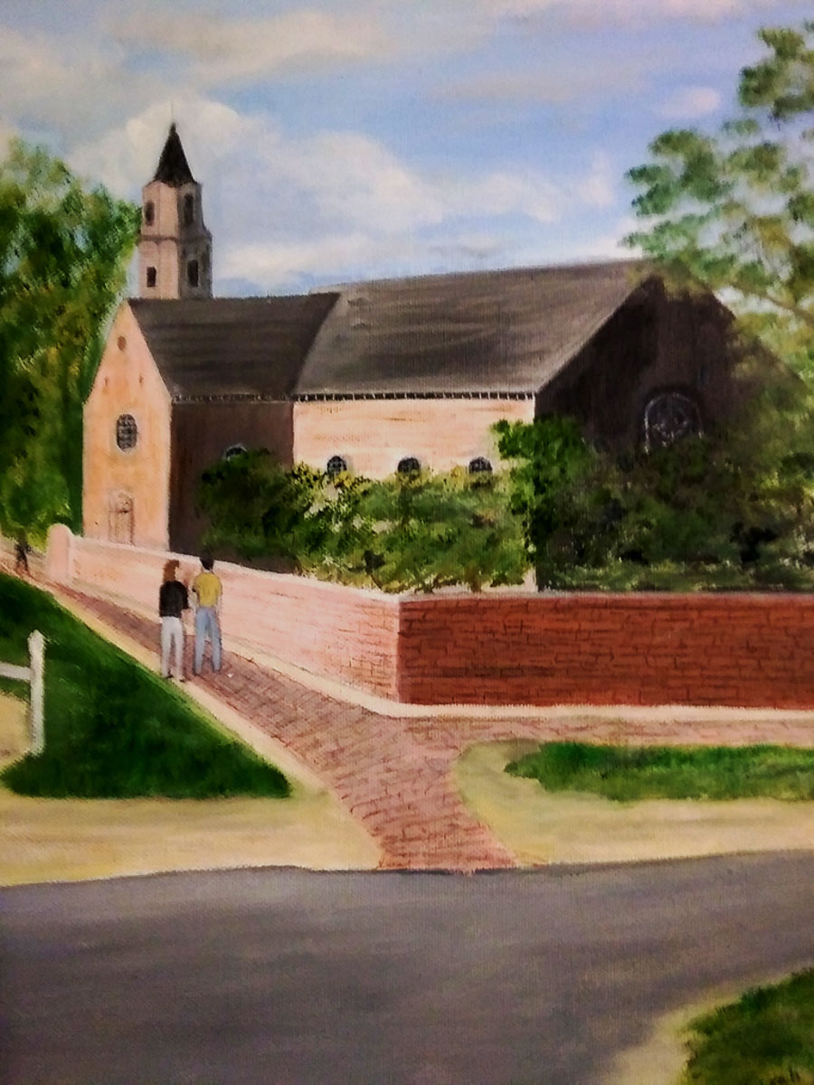 """Bruton Parish Church"""