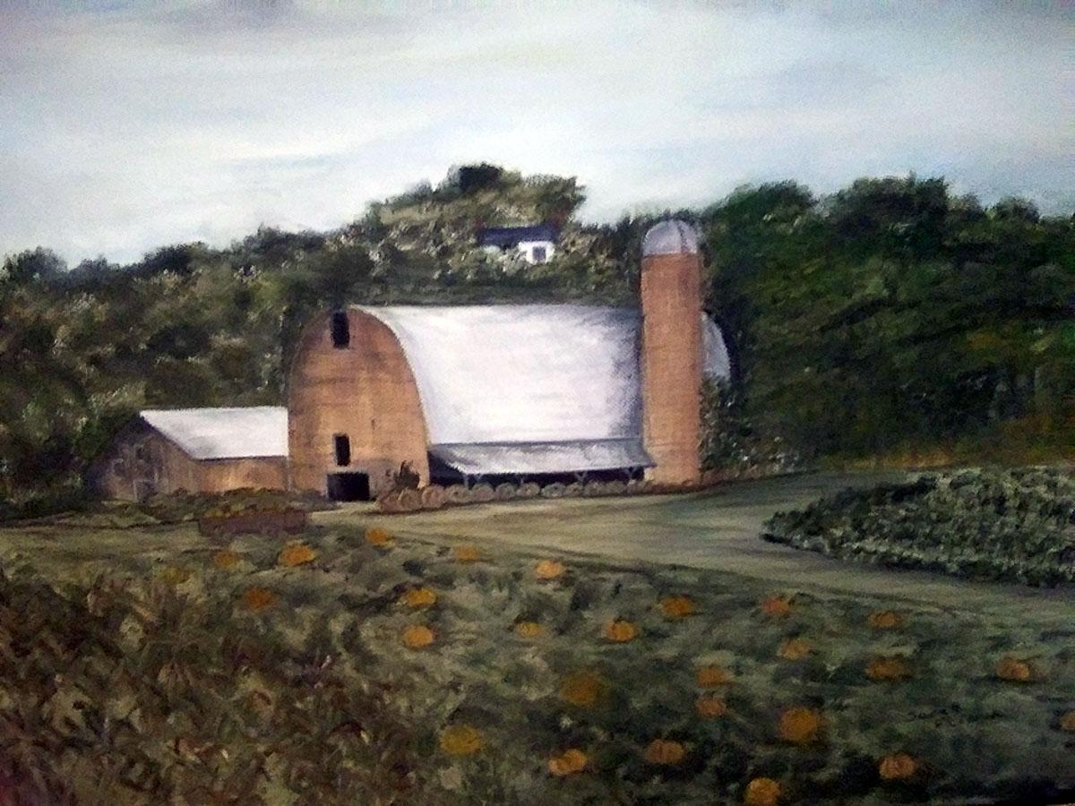 """""""Pumpkin Farm"""" by Sarah Flinn"""