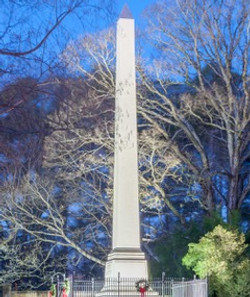 """Mary Washington Monument,"" by Buddy Lauer."