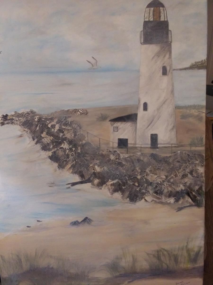 """""""Ocean Mist"""" by Sarah Flinn"""