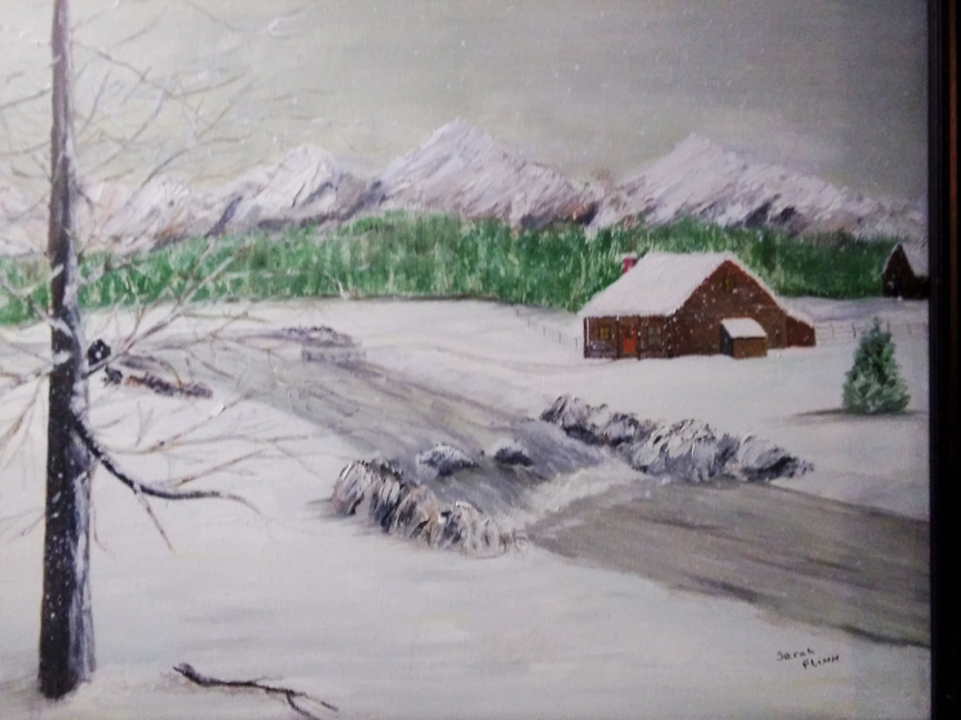 Icy Morning, Sarah Flinn