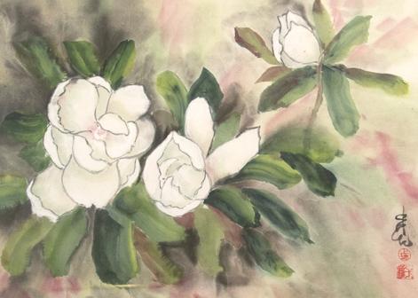 Spring Magnolia, Carol Waite