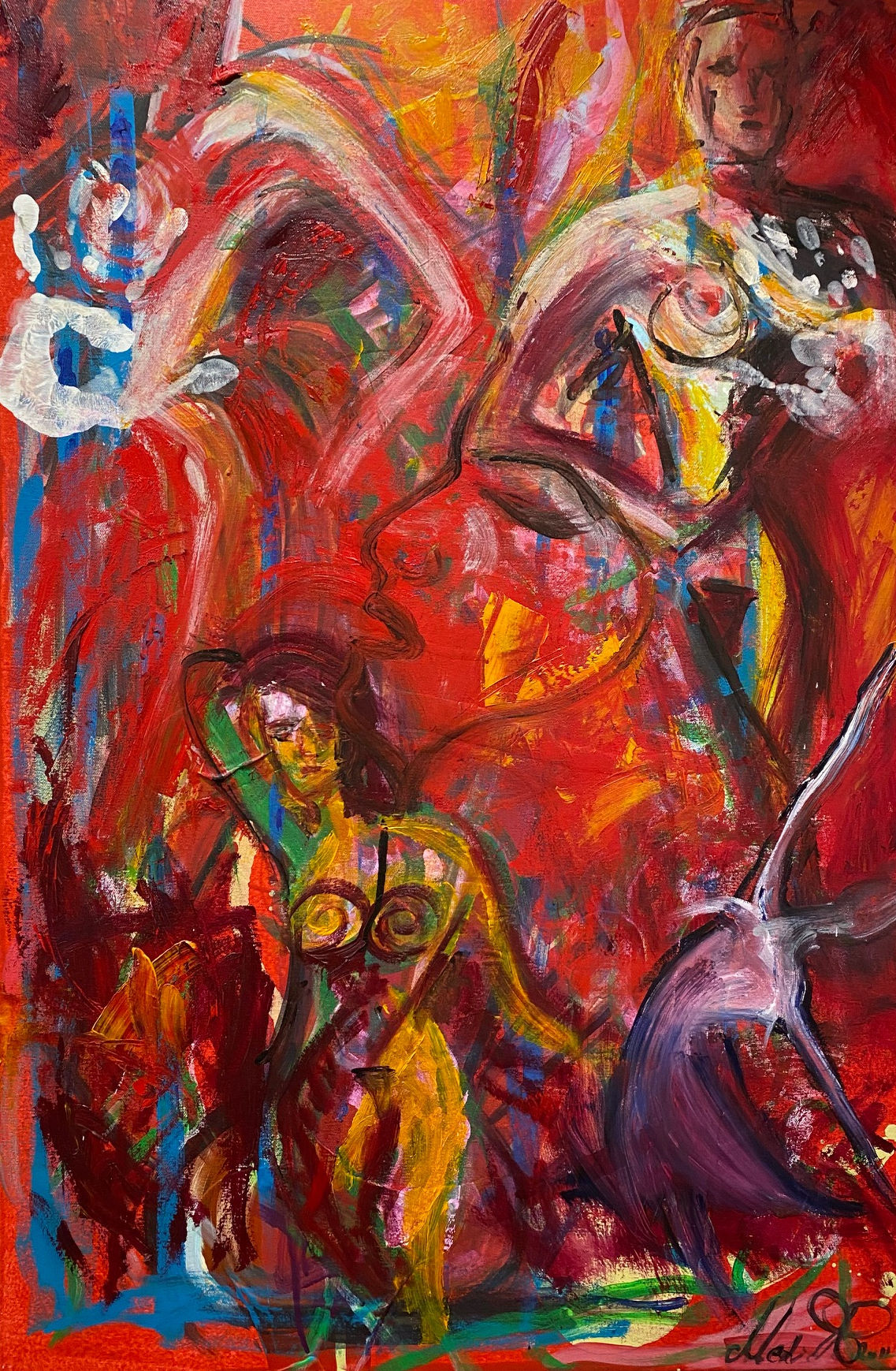 """Life #1,"" by Medina Roberts."