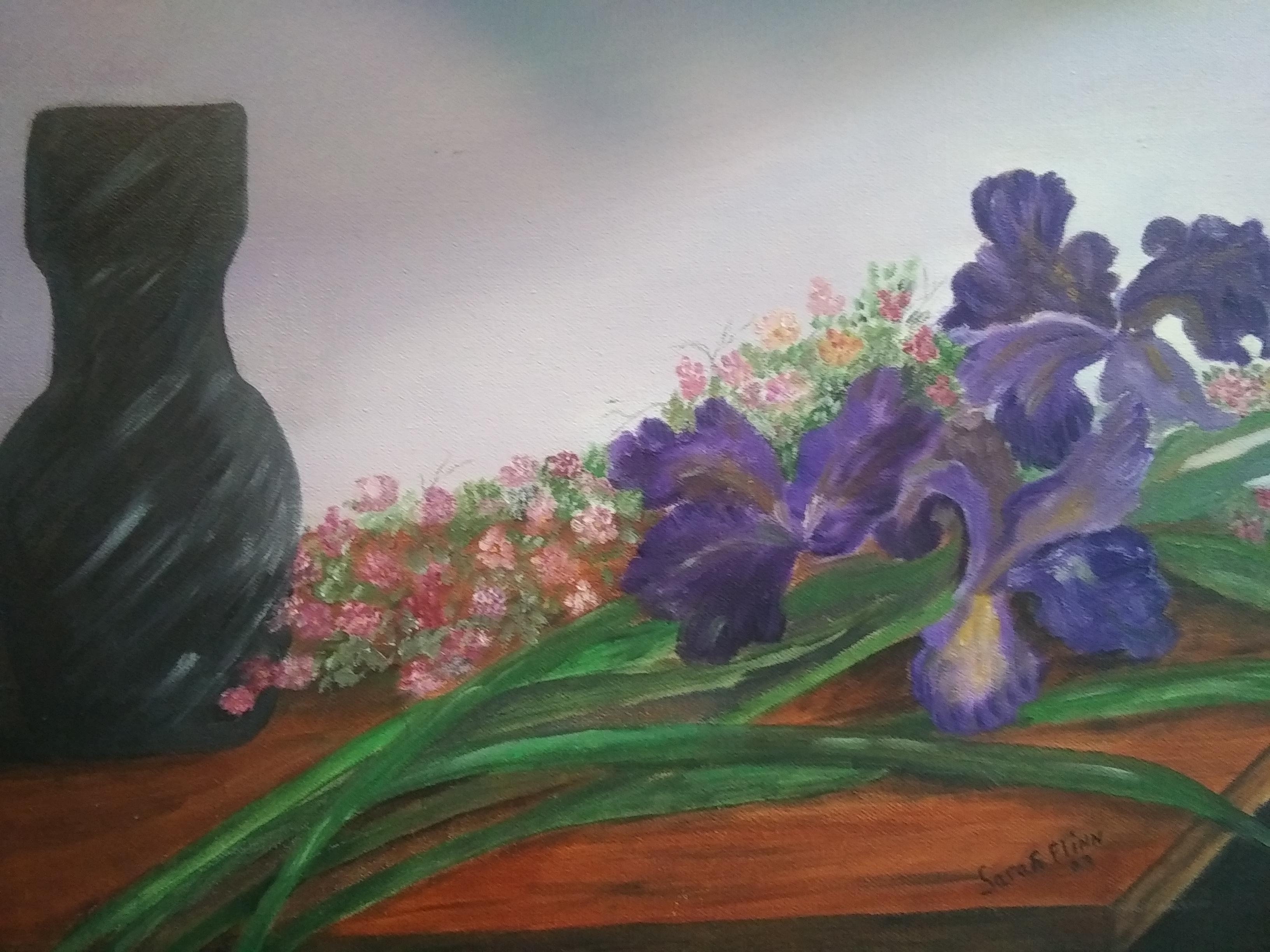 Irises, Sarah Flinn