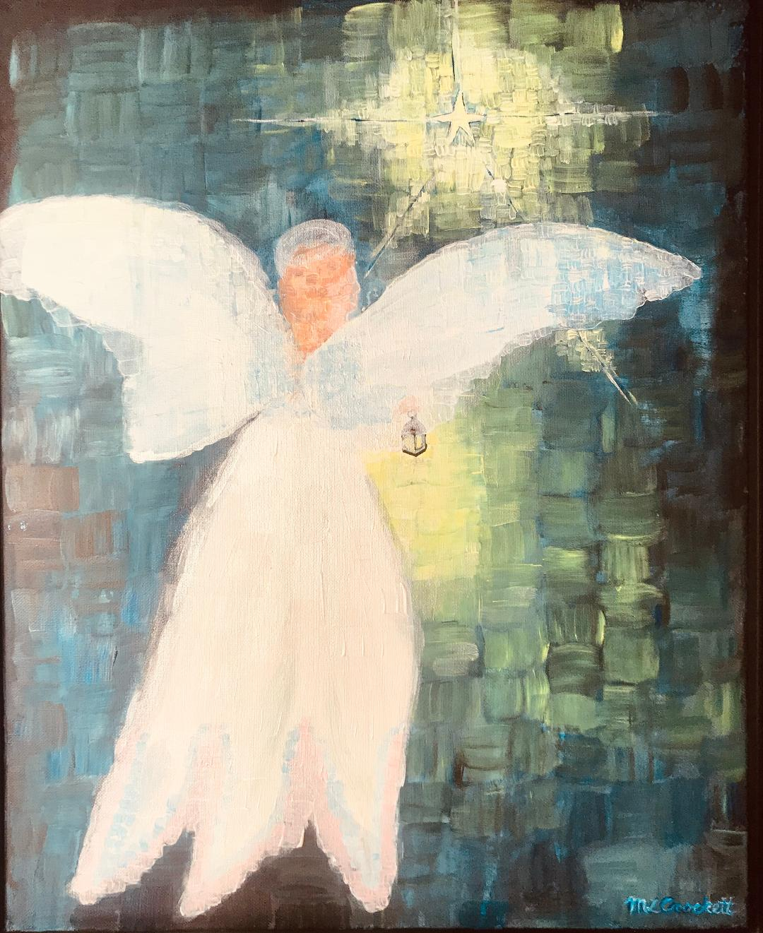 Angel Guiding, Megan Lee Crockett