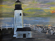 Sunset Lighthouse, Sarah Flinn