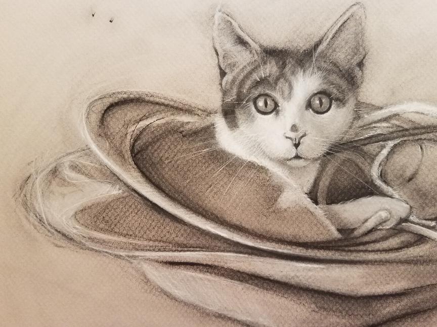 """Olive's Nest,"" by Carol Haynes."