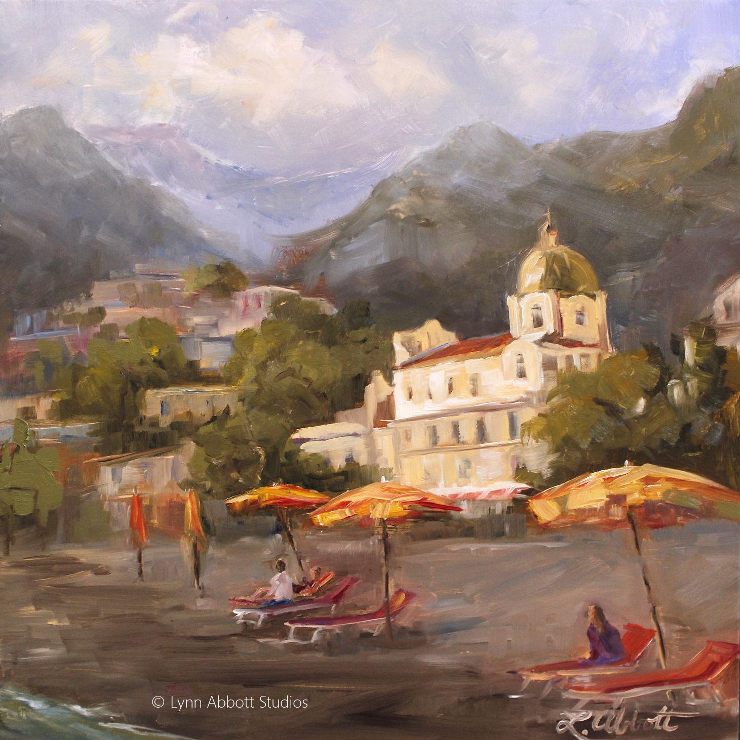 Afternoon in Positano, Lynn Abbott