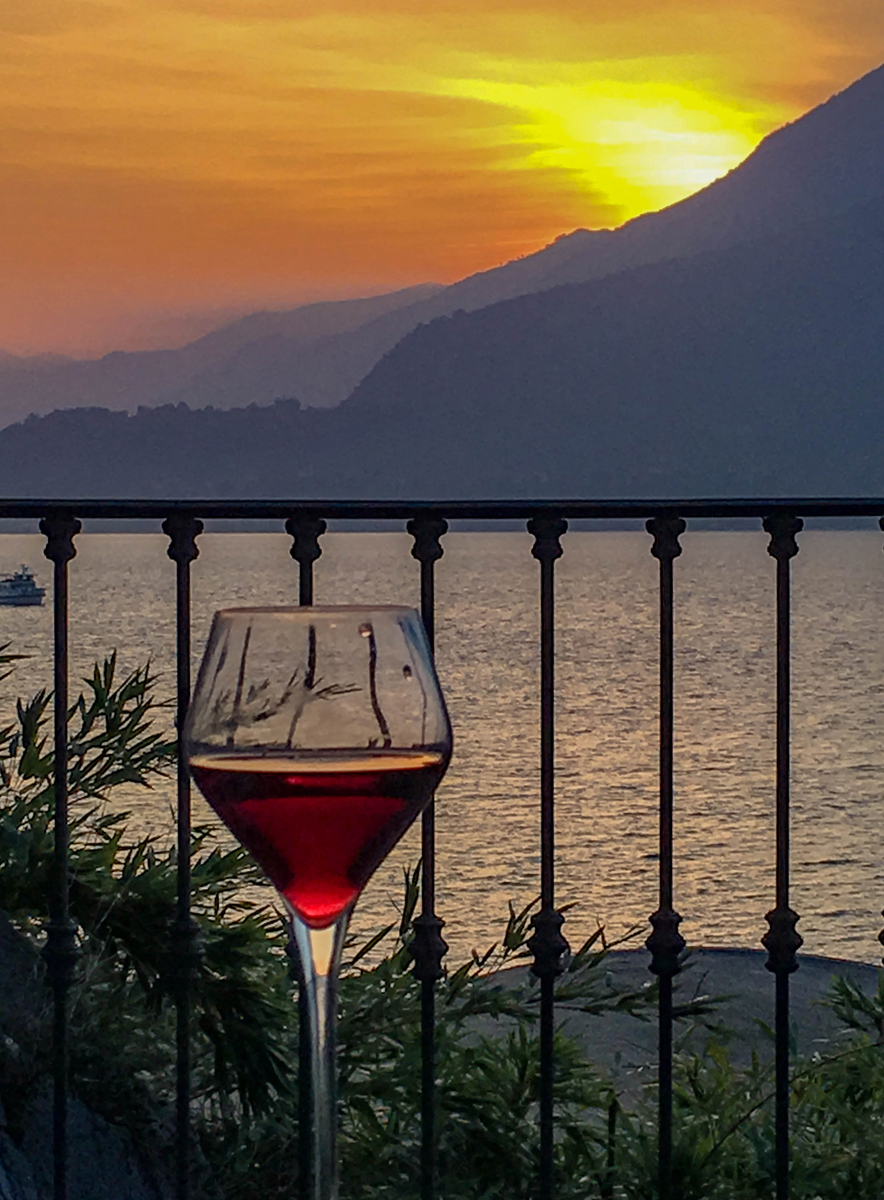 """""""Wine Sunset,""""-Italy by Penny A Parrish"""
