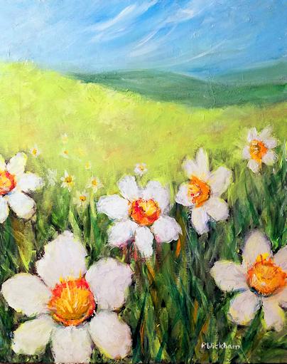 A Host Of Daffodils, Peggy Wickham