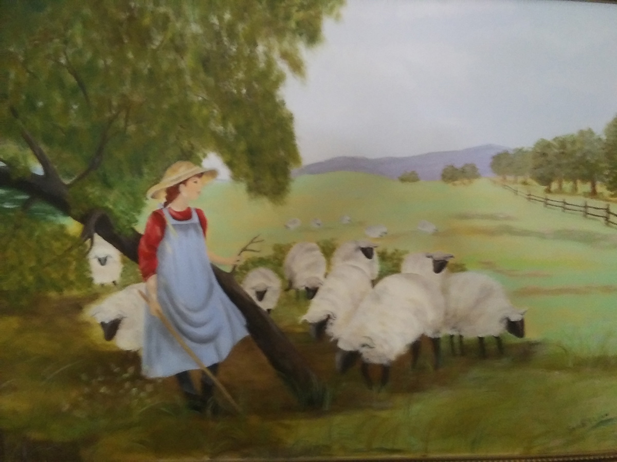 """Sheep Girl"", by Sarah Flinn"