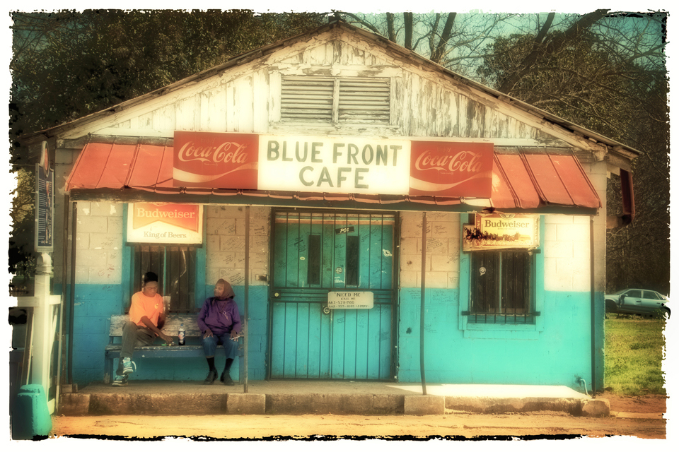 Blue Front Cafe, Norma Woodward