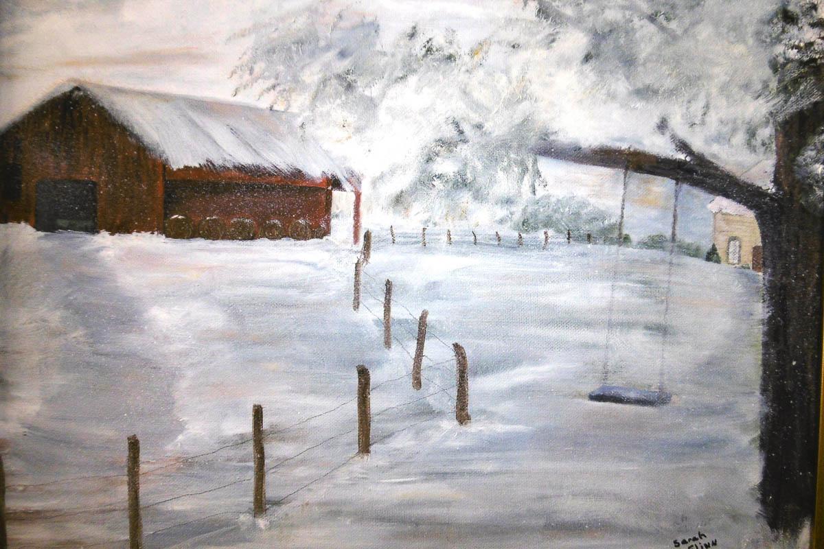 """The Swing"" by Sarah Flinn"