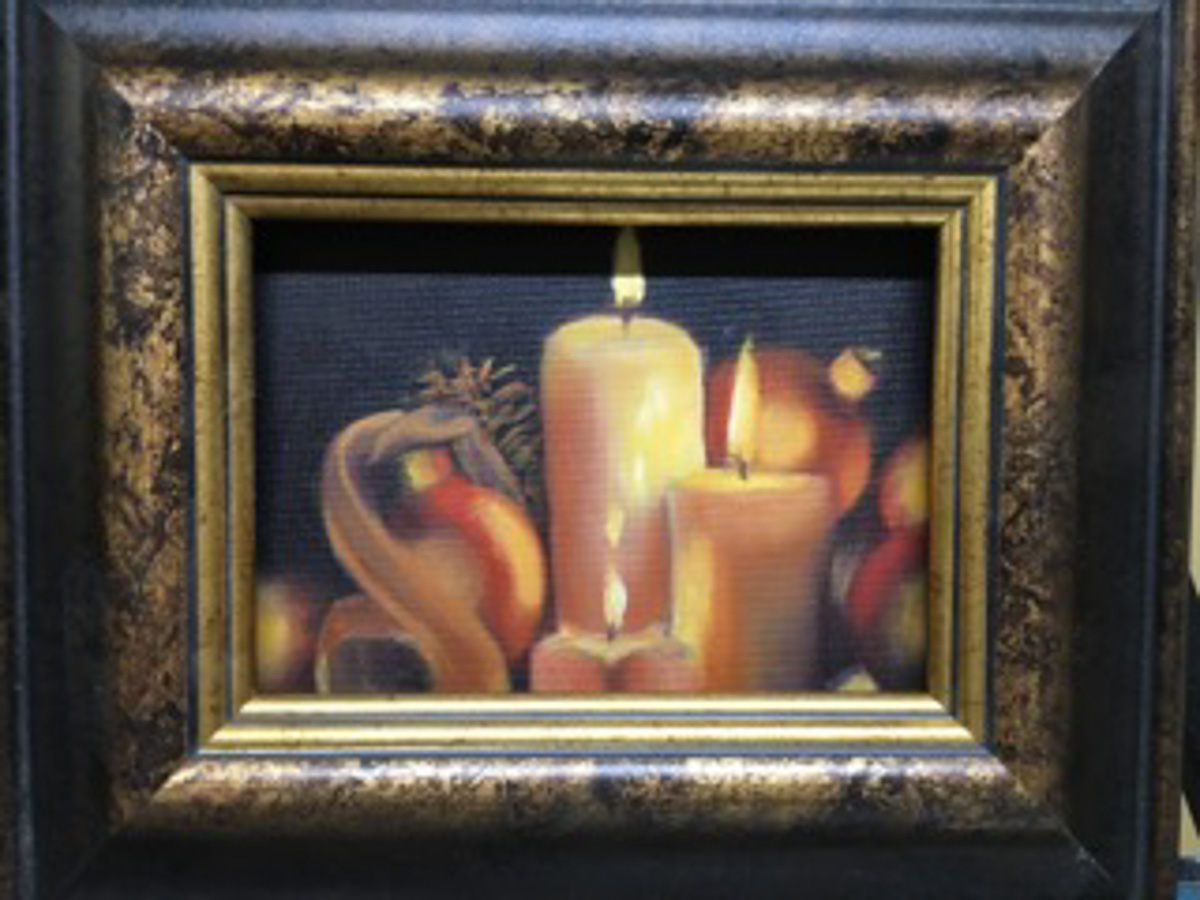 """Candle Light"" by Denise Denecke"
