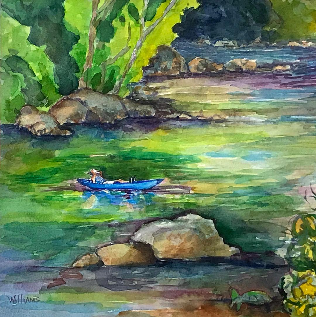Drifting & Dreaming, Nancy Williams
