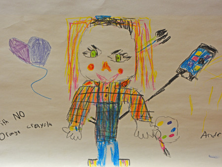 Young Portrait Artists Inspired at BSG