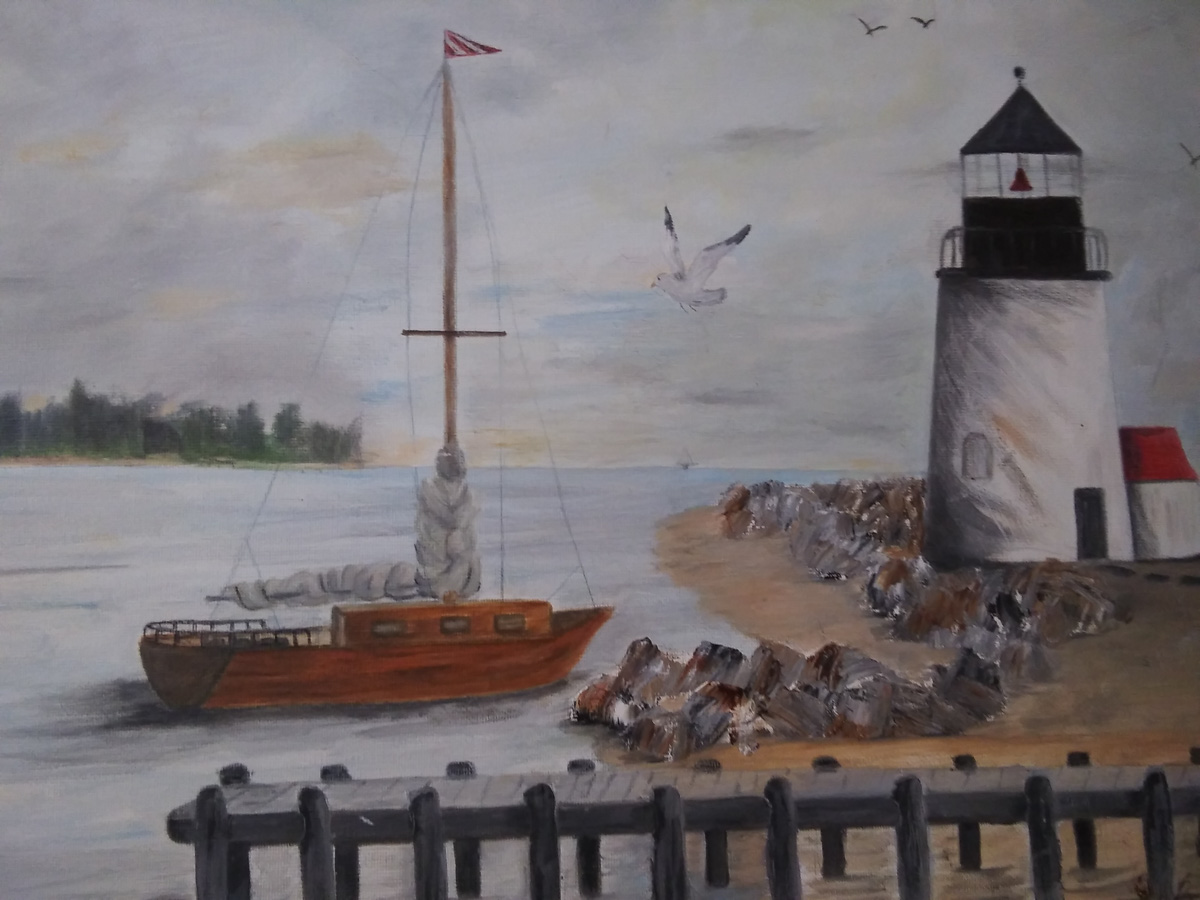 """New England"" by Sara Flinn"