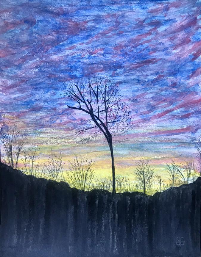 Sunrise Silhouette, Stacy Gaglio