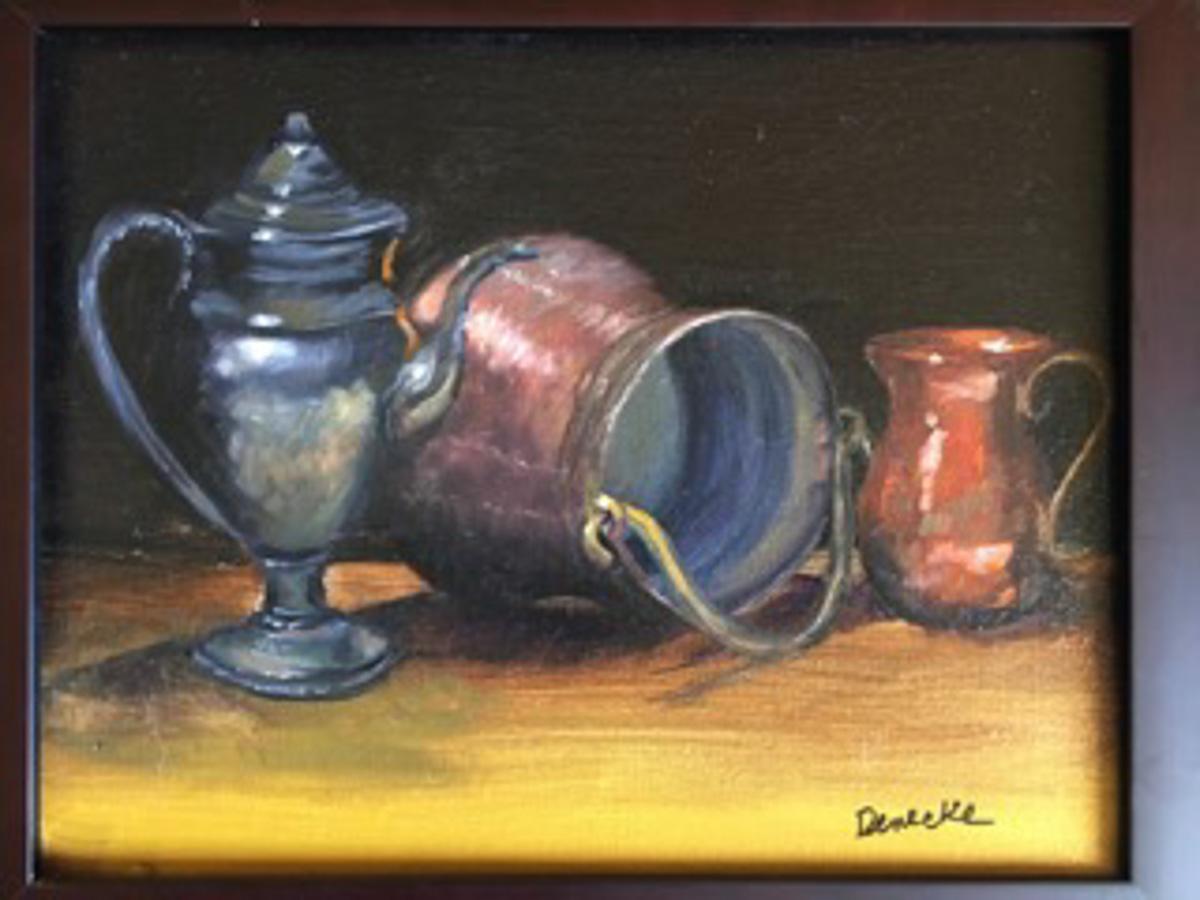 Denise Denecke_Still Life_oil on canvas