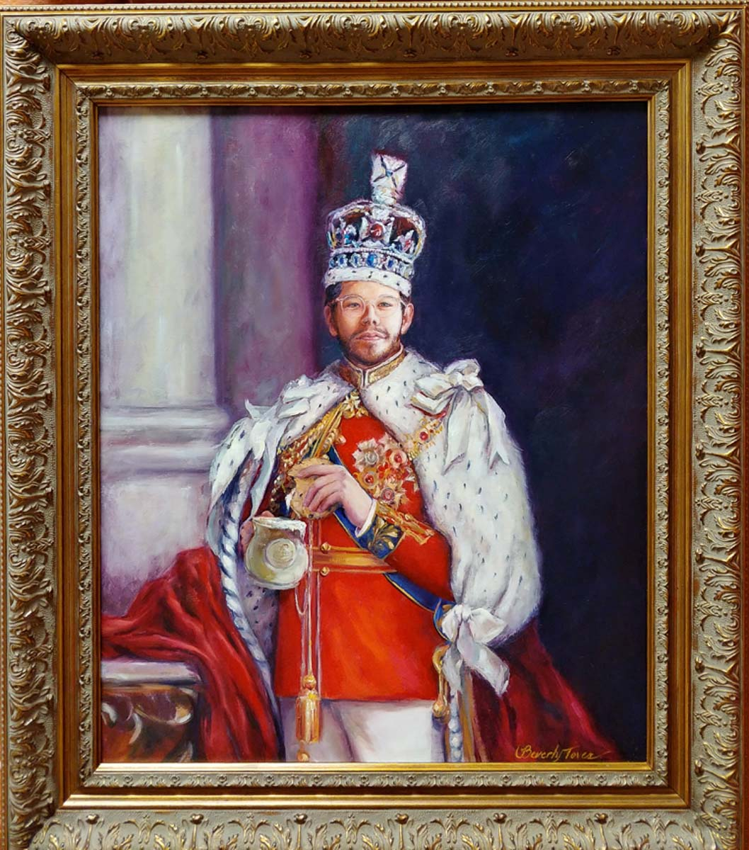 """""""King of Coffee"""" by Beverly Toves"""