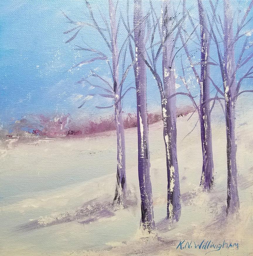 KathleenWillingham_Snowy Hillside