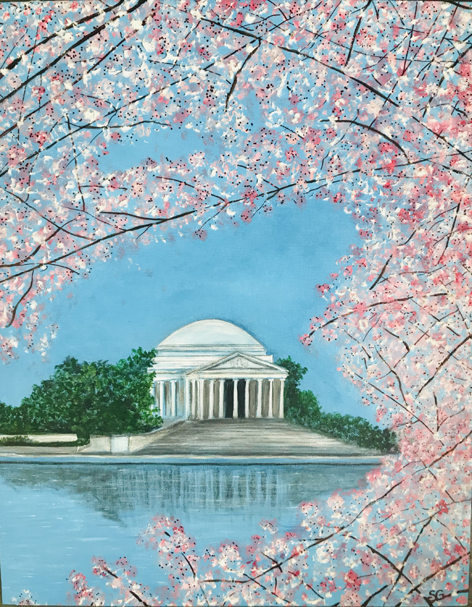 """DC Cherry Blossom Festival,"" by Stacy Gaglio."