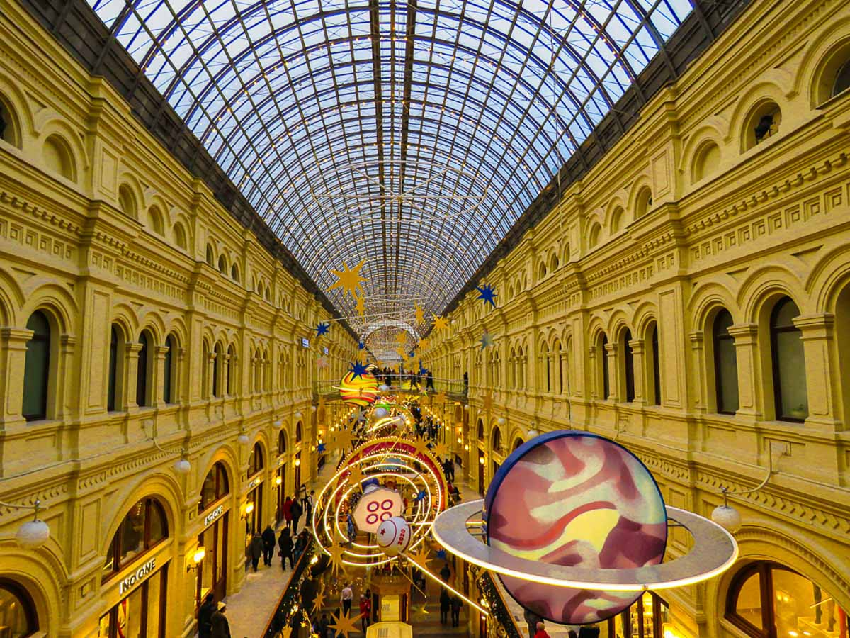 """""""GUM Stores Moscow"""" by Penny A Parrish"""