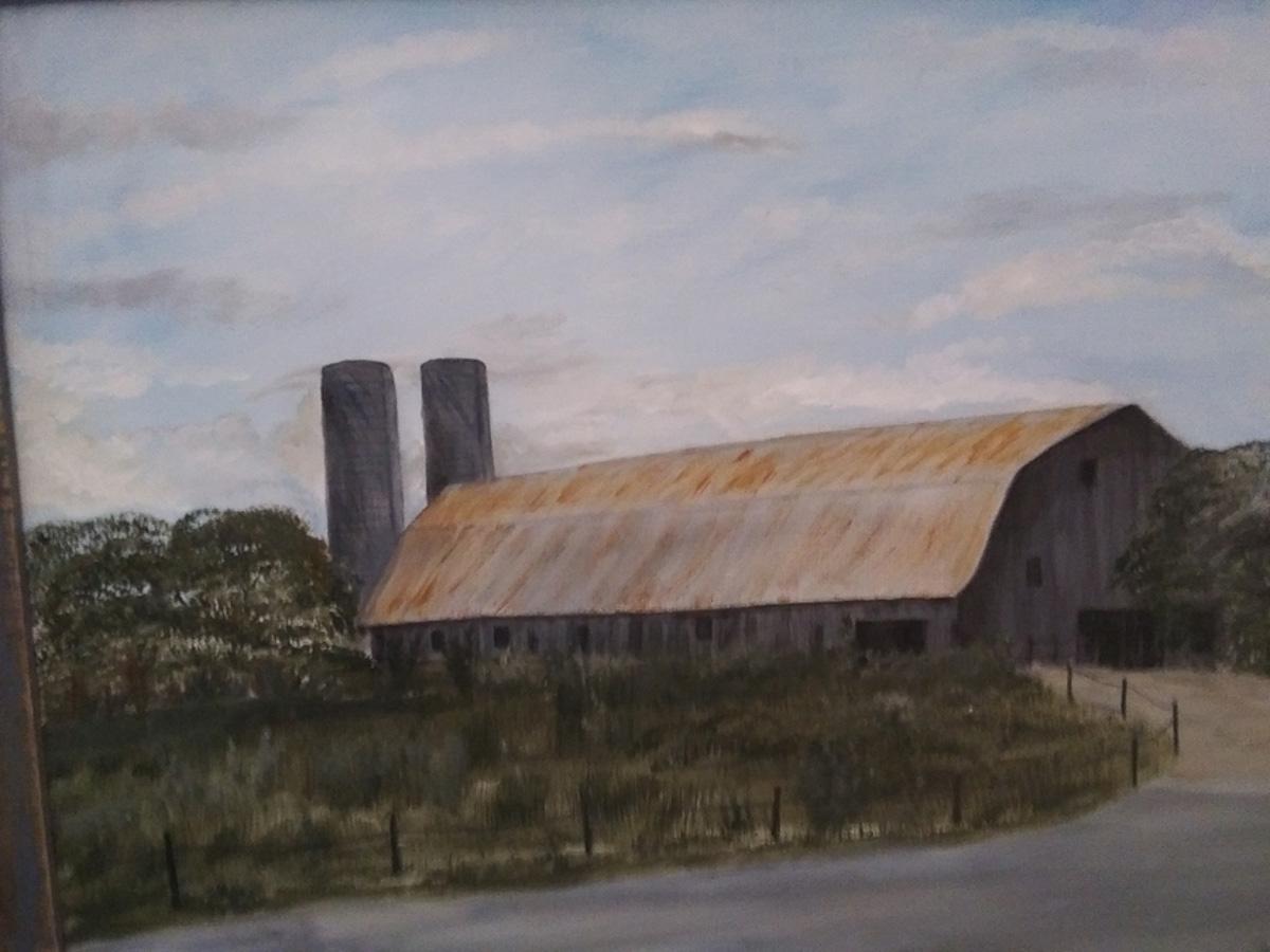 """""""The Old Barn"""", by Sarah Flinn"""