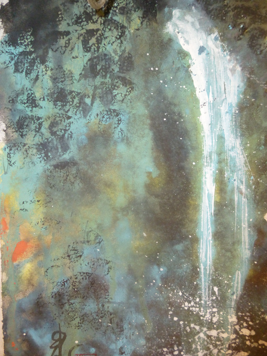 Carol Waite, Waterfall