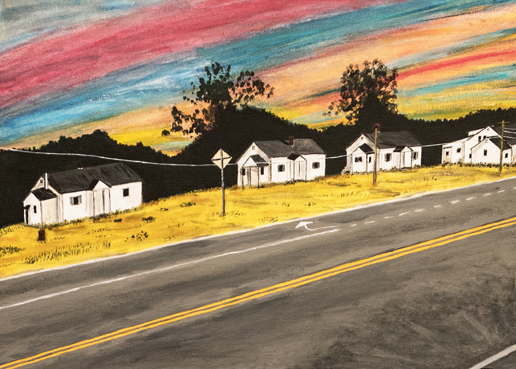 Vacant Sunset, Stacy Gaglio