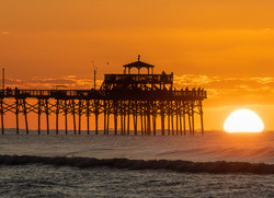 """Sunrise at the Pier"", by Buddy Lauer"