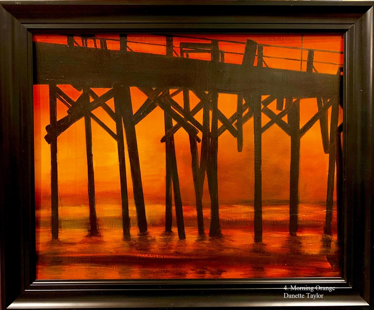 """Morning Orange"" by Danette Taylor"
