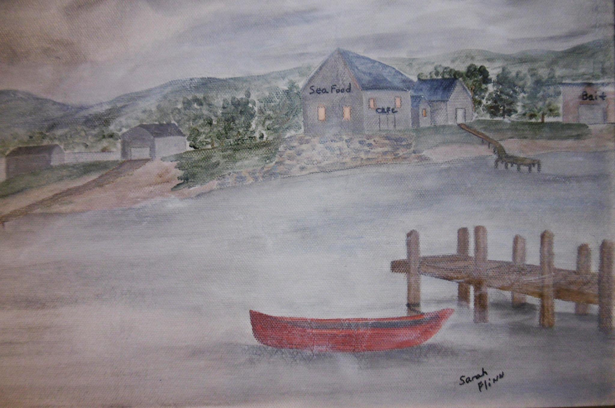 Fishing Village, Sarah Flinn