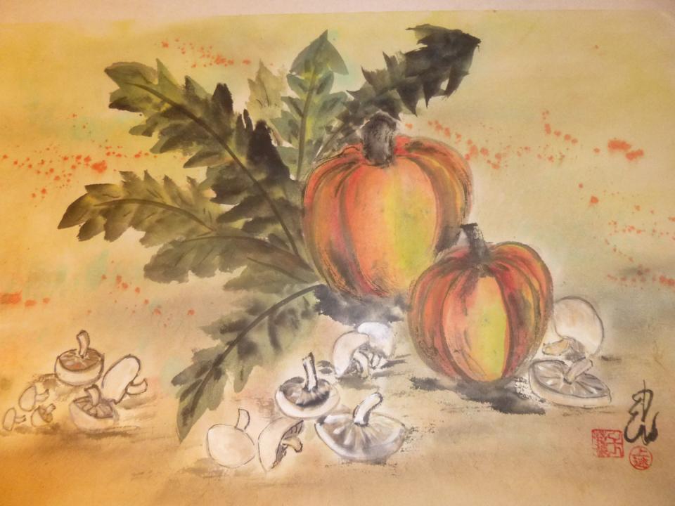 """""""Harvest,"""" Carol Waite"""