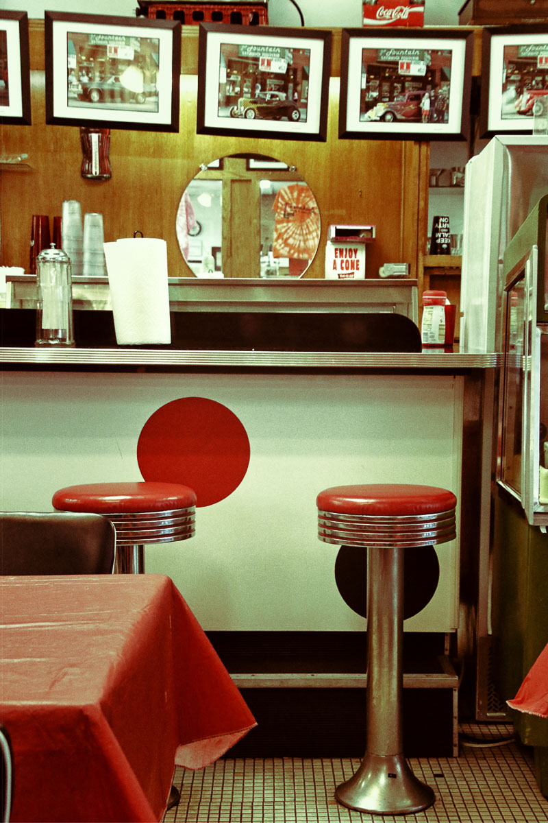 """Diner Buchanan Va"" by Norma Woodward"