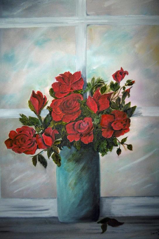 Red Roses, Sarah Flinn