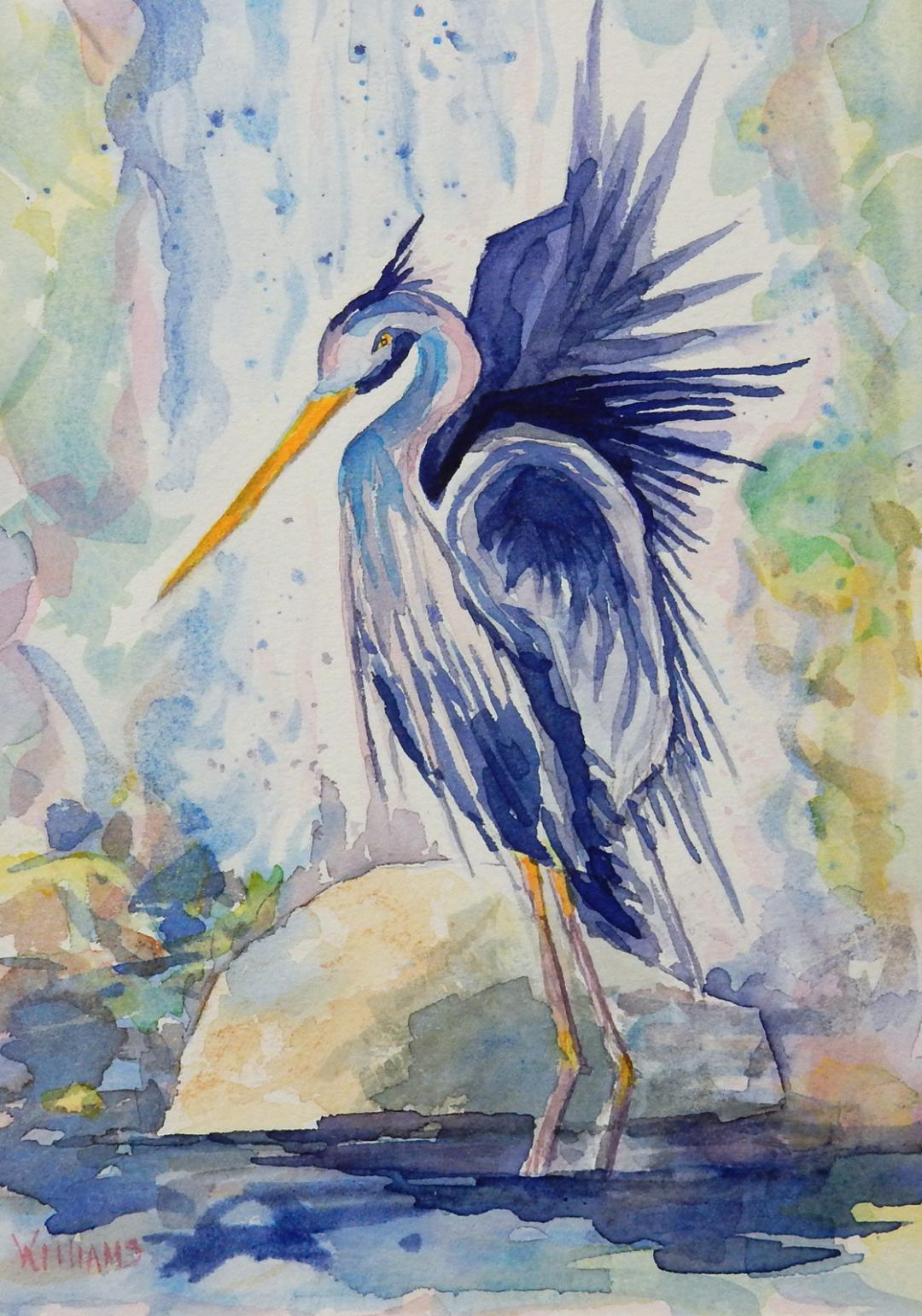 """Majestic Wader,"" by Nancy Williams."