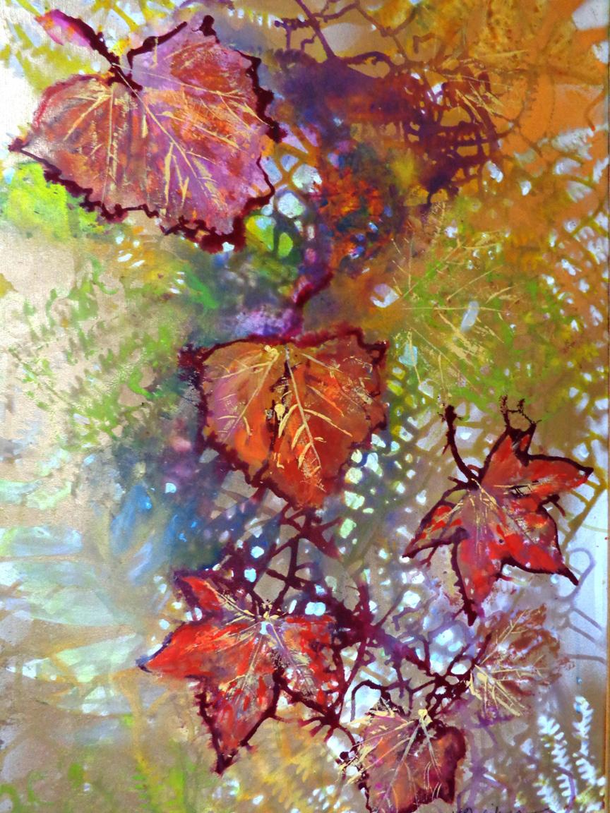 Mosaic of Leaves, Karen Julihn