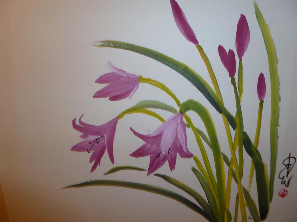 """Lilies,"" by Carol Waite."