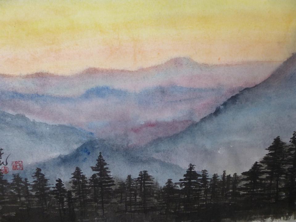 To the Mountains, Carol Waite
