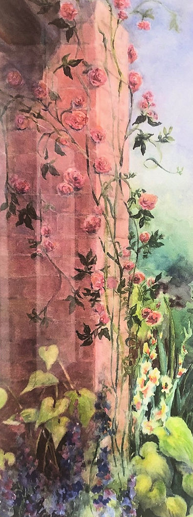 """Chatham Garden Roses,"" by Beverley Coates."