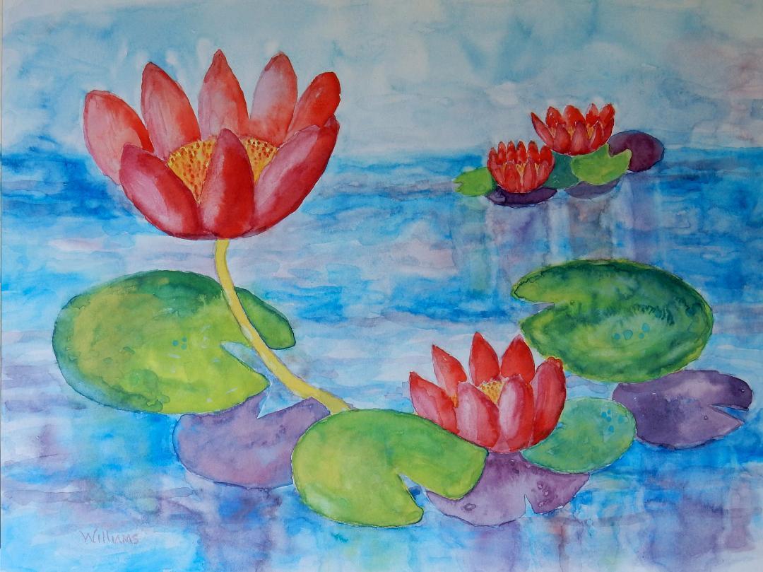 Water Garden, Nancy Marie Williams