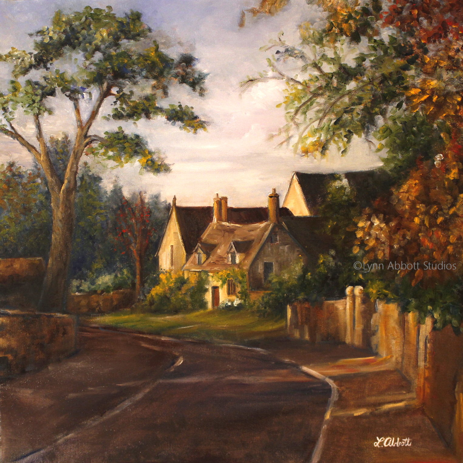 Entering the Village, Lynn Abbott
