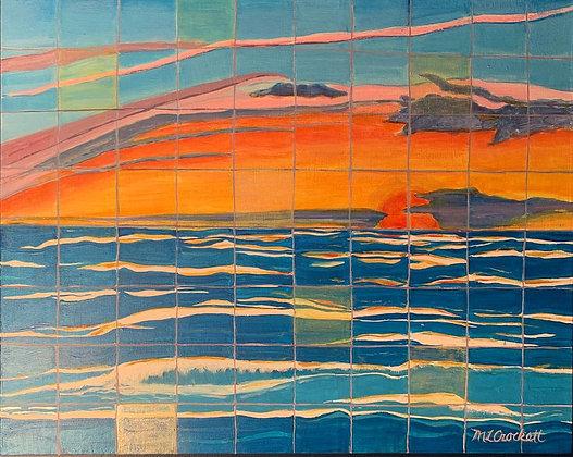Ocean Reflection #6