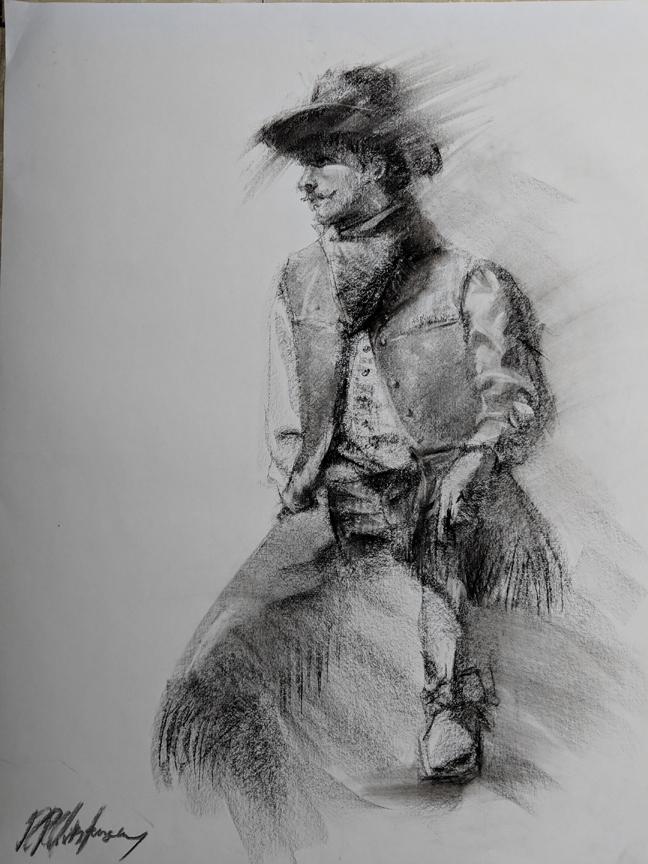 """The Cowboy,"" by RR Christensen."