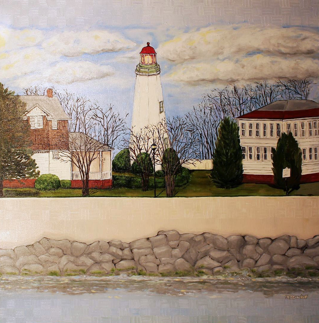 """Old Point Comfort Lighthouse,"" by Megan Crockett."