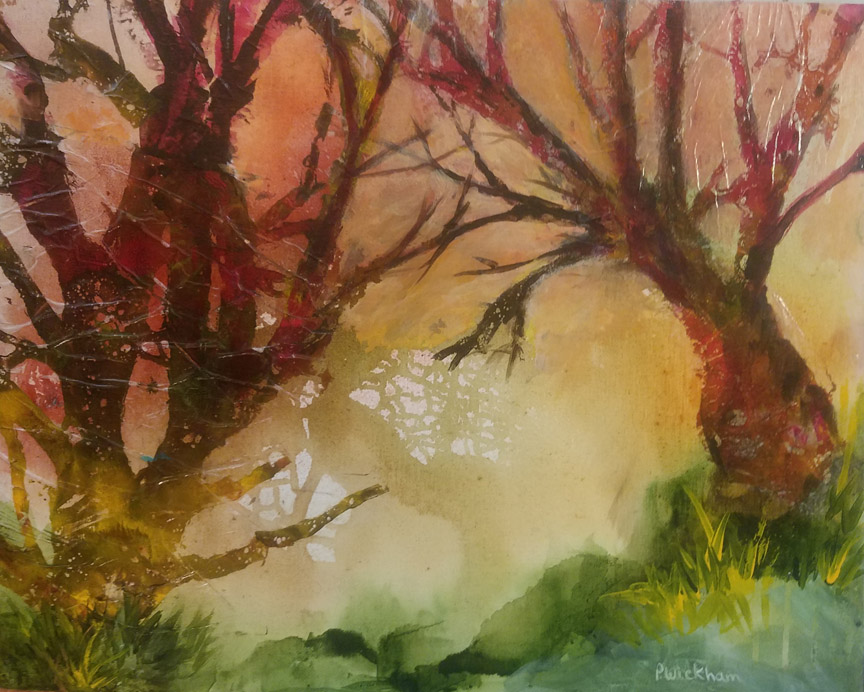 Autumn Morning, Peggy Wickhsm