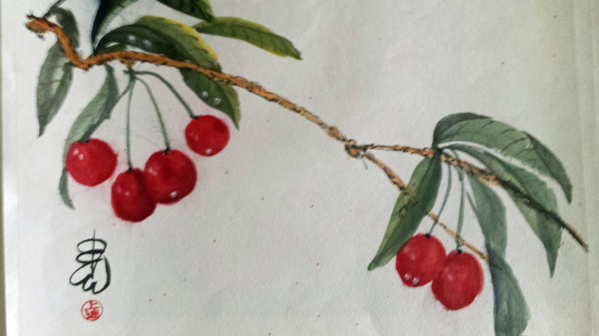 Cherries, Carol Waite