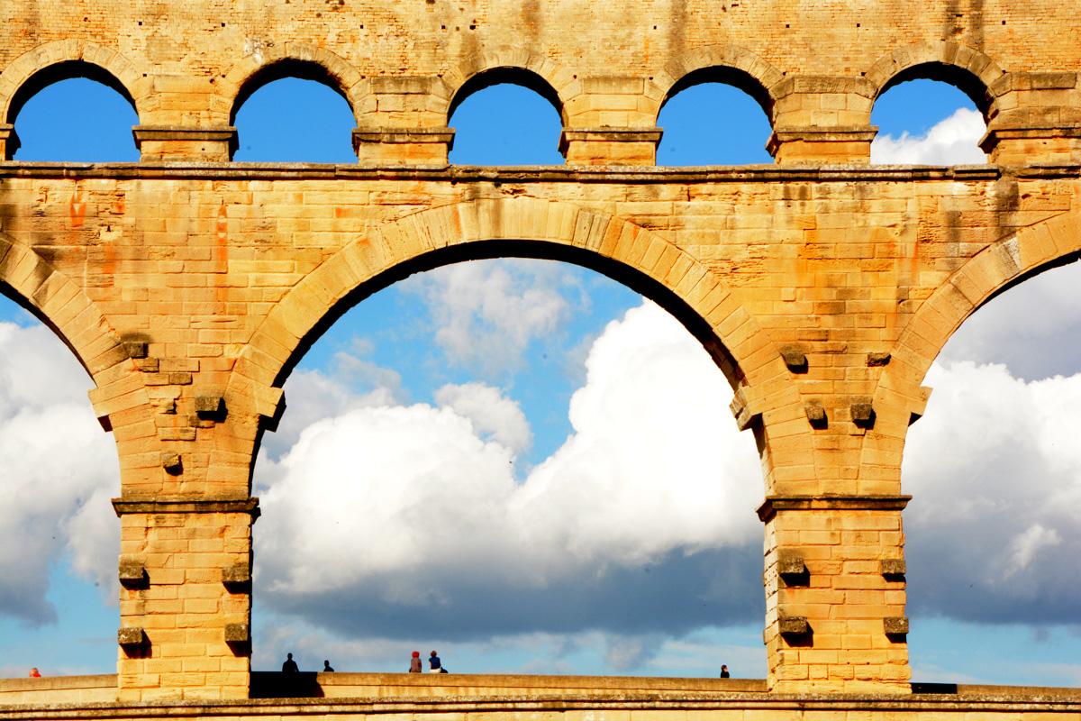 Penny A Parrish, Pont du Gard