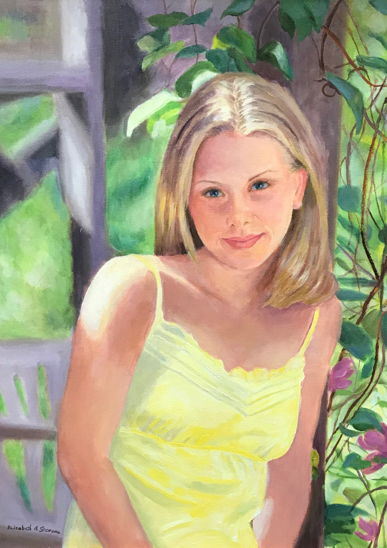 Elizabeth Stevens-Kate in Summer